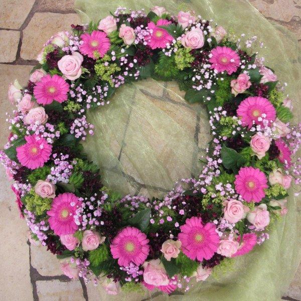Blütenkranz, rosa Bild 1