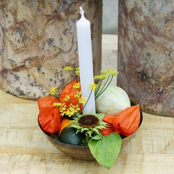 Kerzenständer gold Bild 3