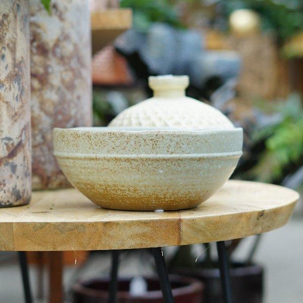 Steinzeug Schale Bild 2