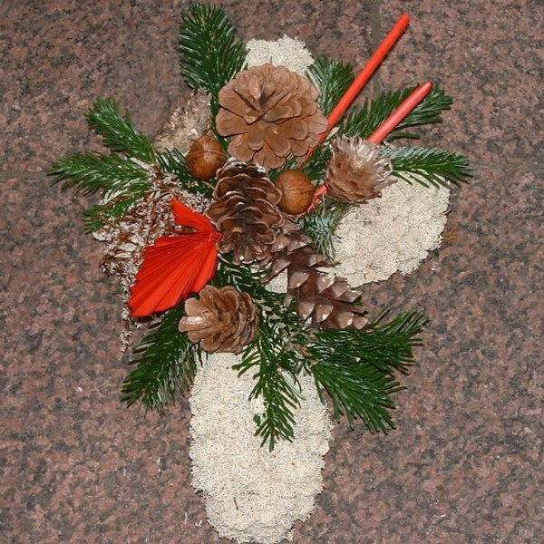 Islandmooskreuz 35cm Bild 1