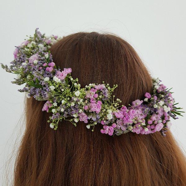 Kopfkranz Waxflower Bild 1