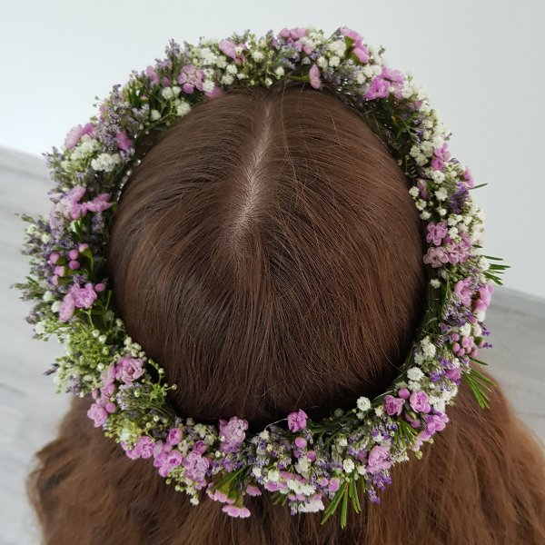 Kopfkranz Waxflower Bild 3