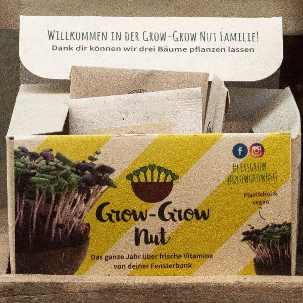 Grow-Grow Nut Starterpaket Bild 2