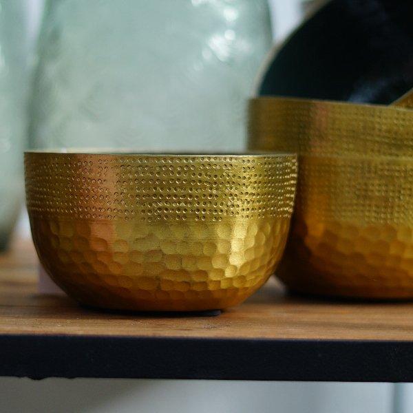 Schale gold Bild 1