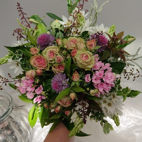 Blumenstrauß - Violett Bild 1