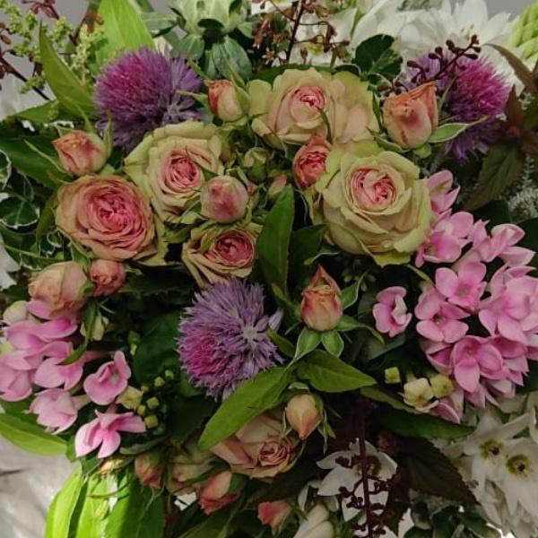 Blumenstrauß - Violett Bild 2