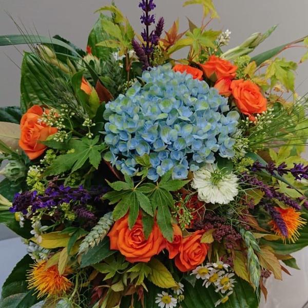 Blumenstrauß - Hortensie Bild 1