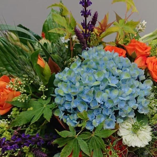 Blumenstrauß - Hortensie Bild 2