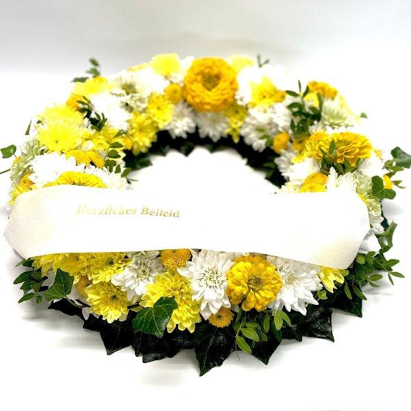 Blütenkranz gelb Bild 1