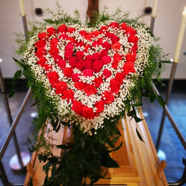 Sargschmuck Herz groß Bild 1