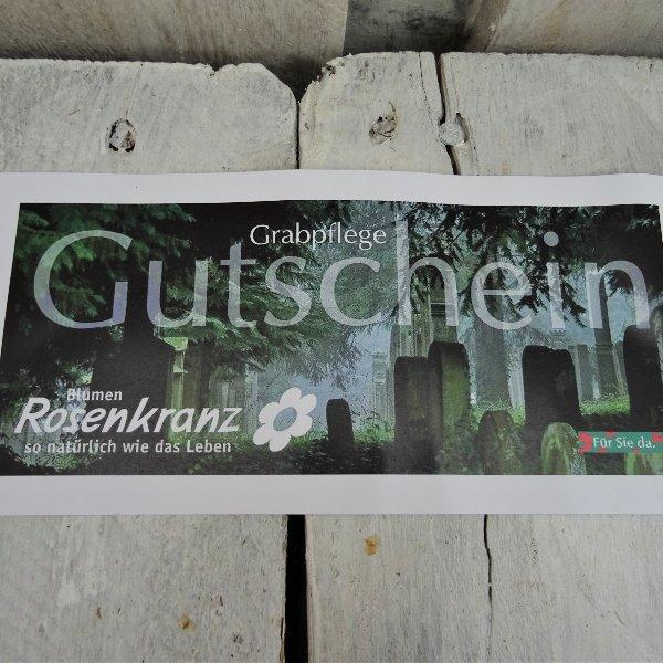 Gutschein Grabpflege Bild 1