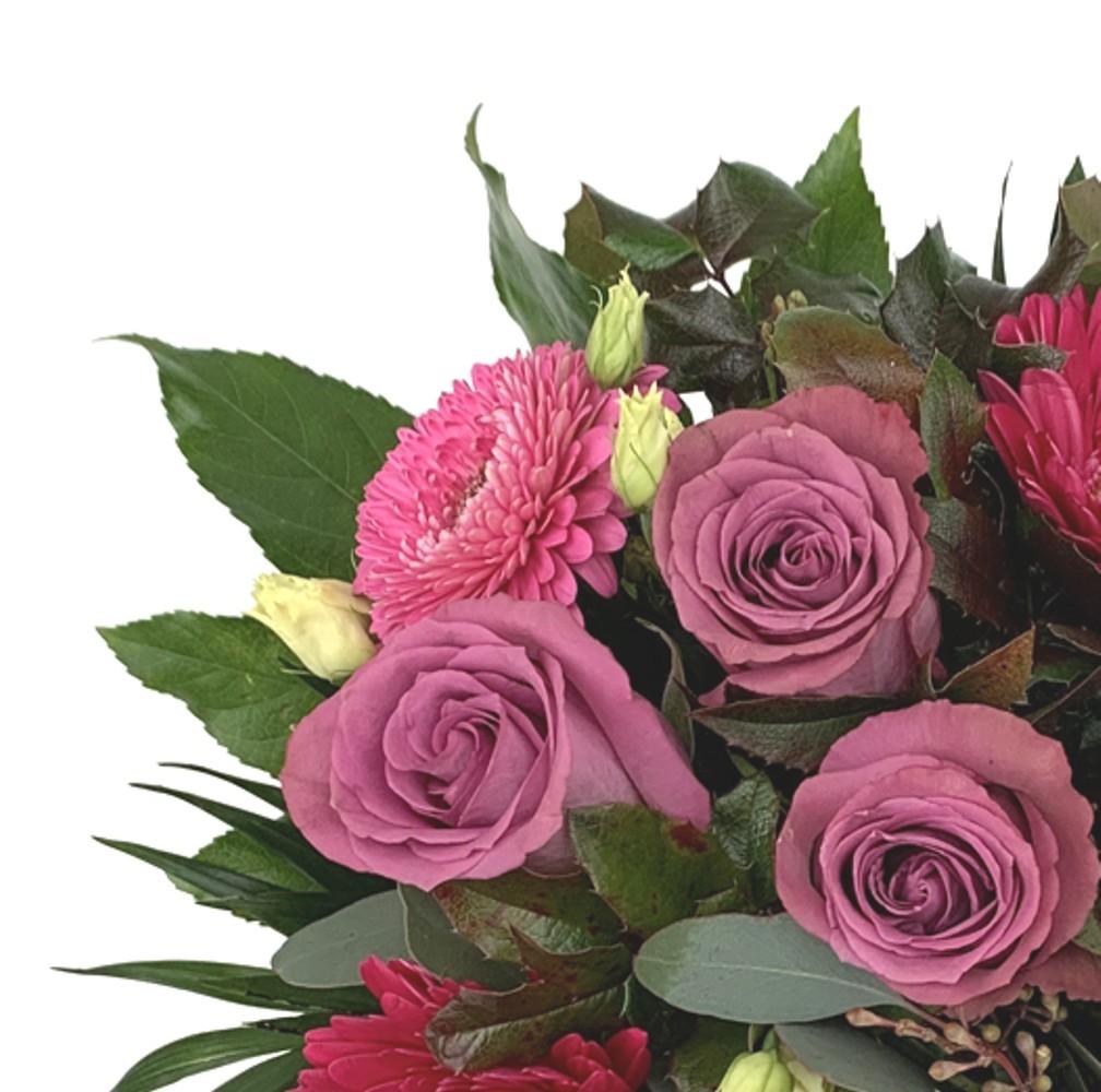Strauß in lila Tönen Bild 2