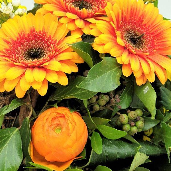 Blumenstrauß Ton- in- Ton gelb/orange Bild 2