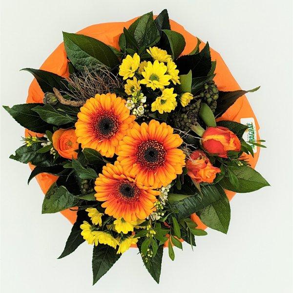 Blumenstrauß Ton- in- Ton gelb/orange Bild 3