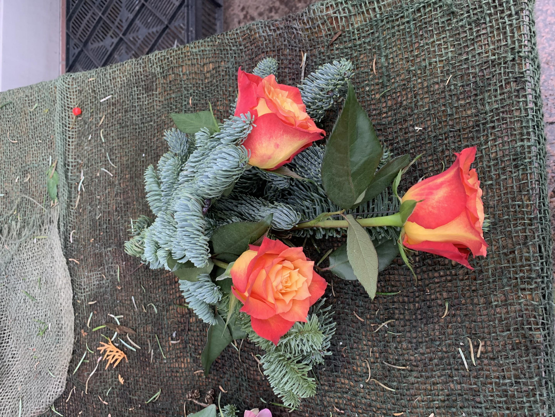 Frischblumen kleiner Strauß Bild 1