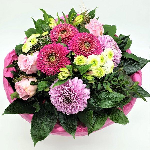 Strauß Ton- in- Ton lila/rosa/pink Bild 1