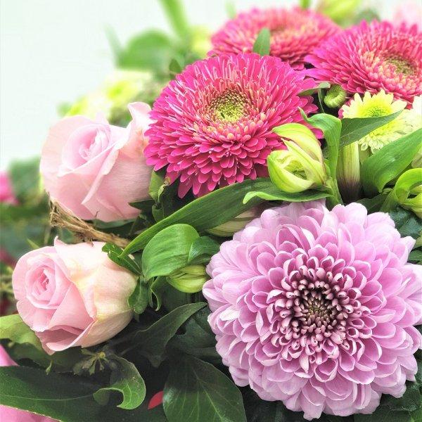 Strauß Ton- in- Ton lila/rosa/pink Bild 2