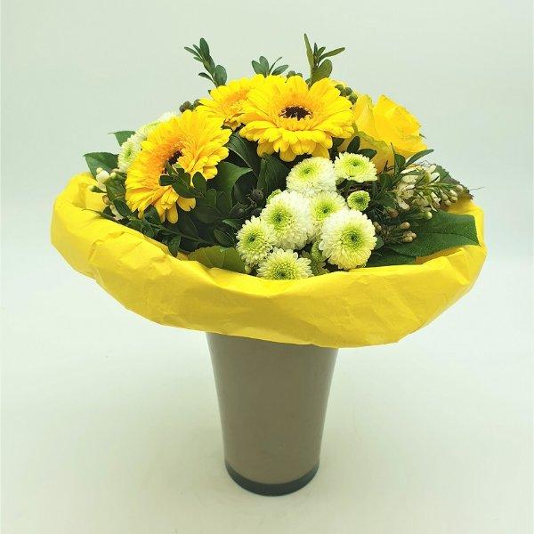Blumenstrauß in gelb Bild 2