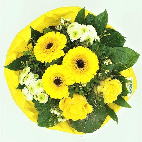 Blumenstrauß in gelb Bild 4