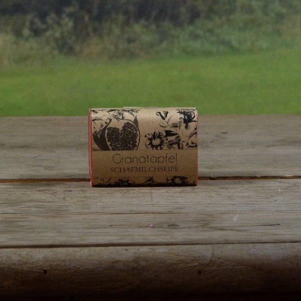 Granatapfel Schafsmilchseife Bild 1