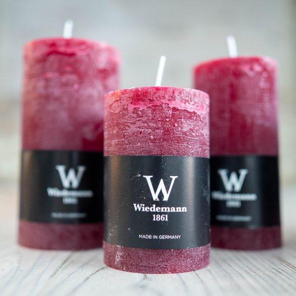Marble Rustik Kerzen Bordeaux Bild 1