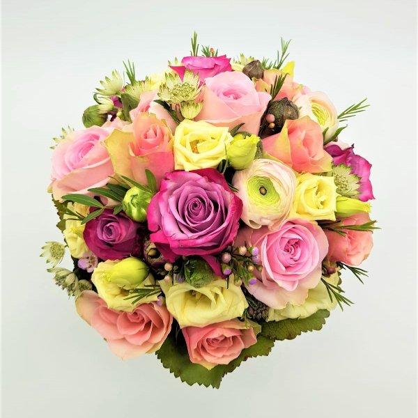 Blumenstrauß bunt Bild 1