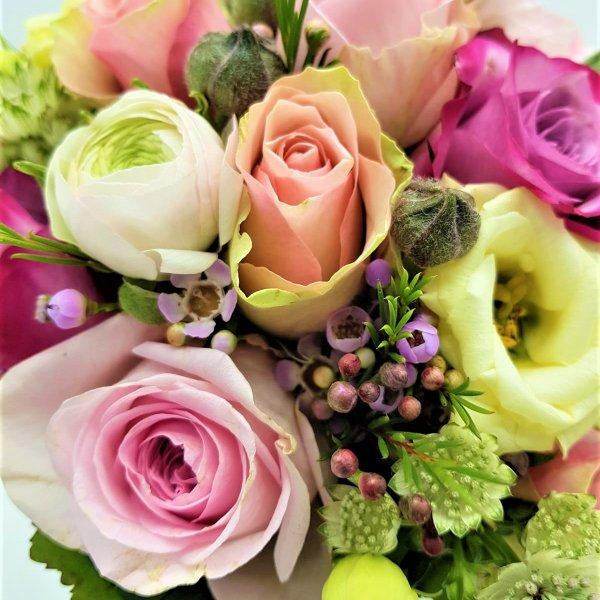 Blumenstrauß bunt Bild 3
