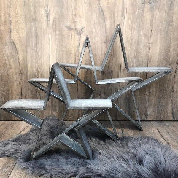Stern aus Zinkblech Bild 1