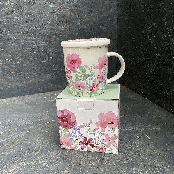 Teetasse mit Sieb Bild 1