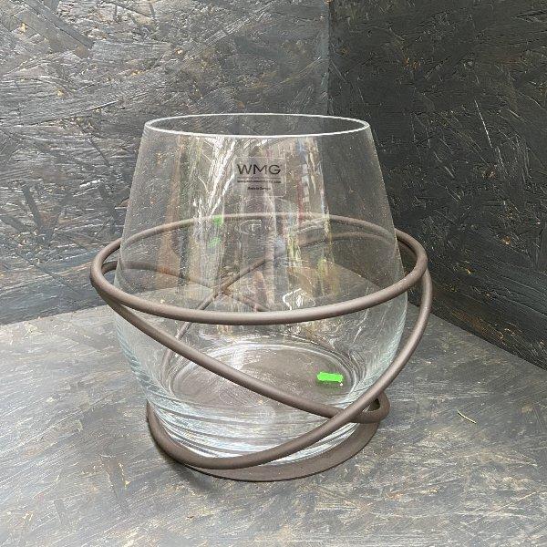 Glas auf Metallständer Bild 1
