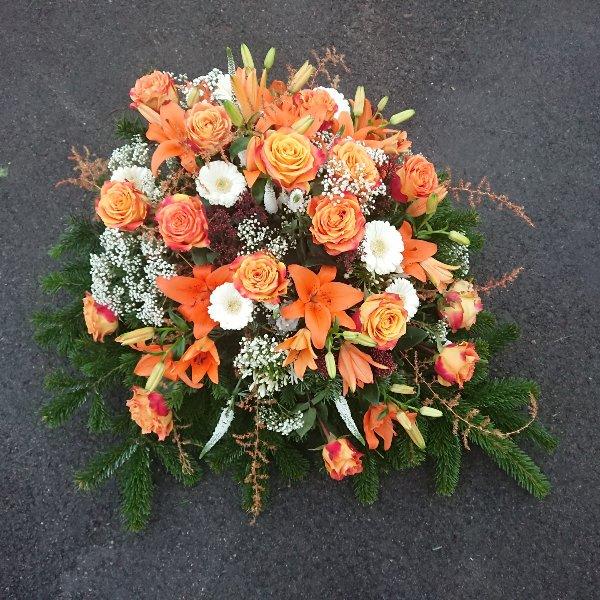 Bukett mit Rosen und Lilien Bild 1