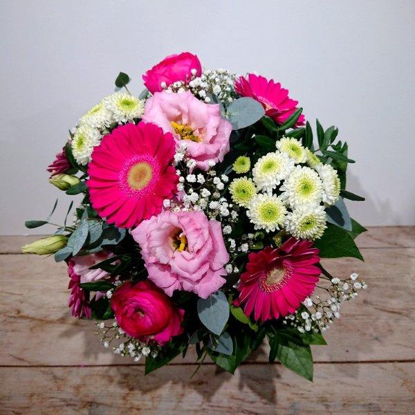 Blumenstrauß rosa-pink Bild 1