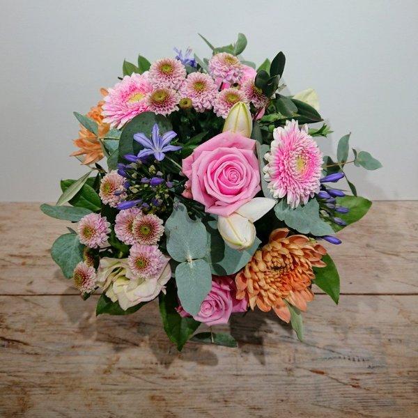 Blumenstrauß Pastell Bild 1