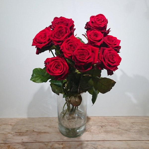 Rosen pur oder als Strauß Bild 1