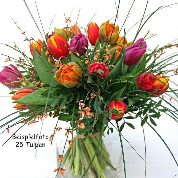 Strauß bunte Tulpen Bild 1