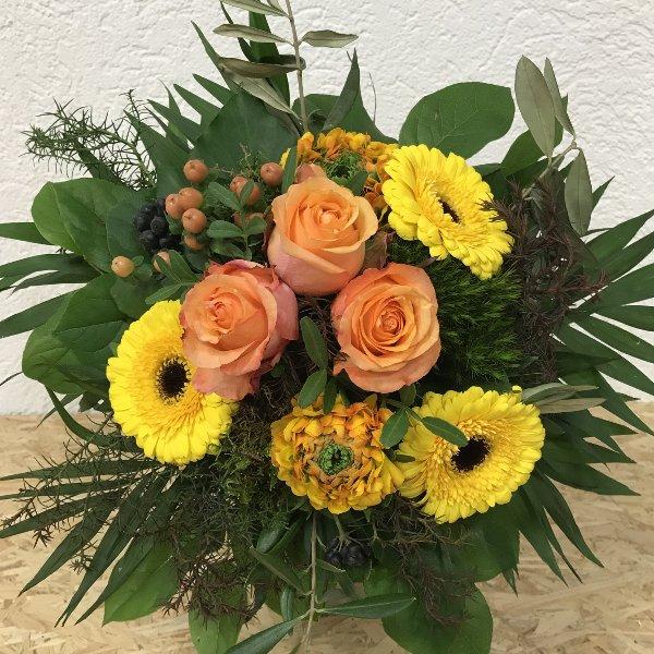 BS-3 Blumenstrauß in gelb Bild 1