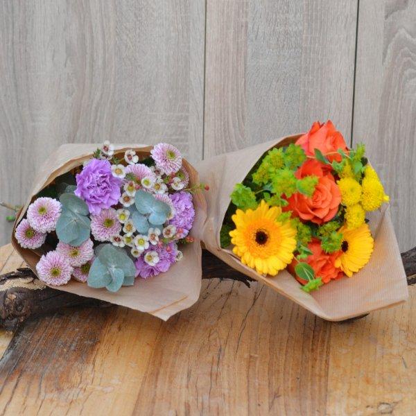 Bunte DIY Blumentüte Bild 1
