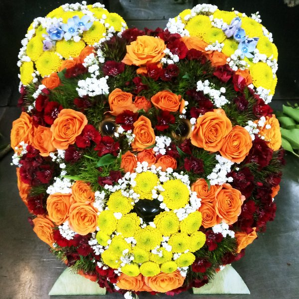 Blütenbär Bild 1