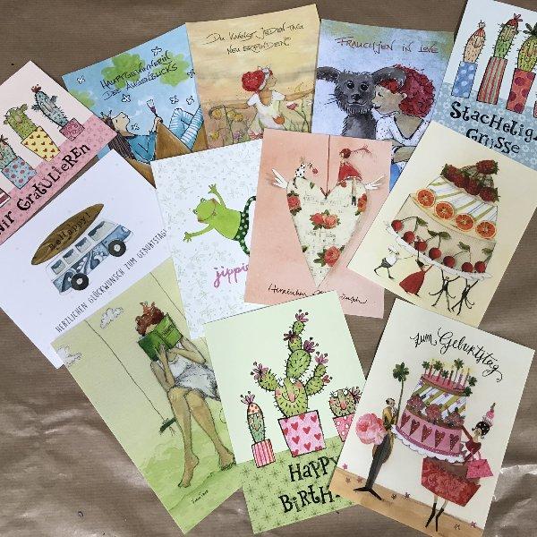 Postkartenpaket Bild 1