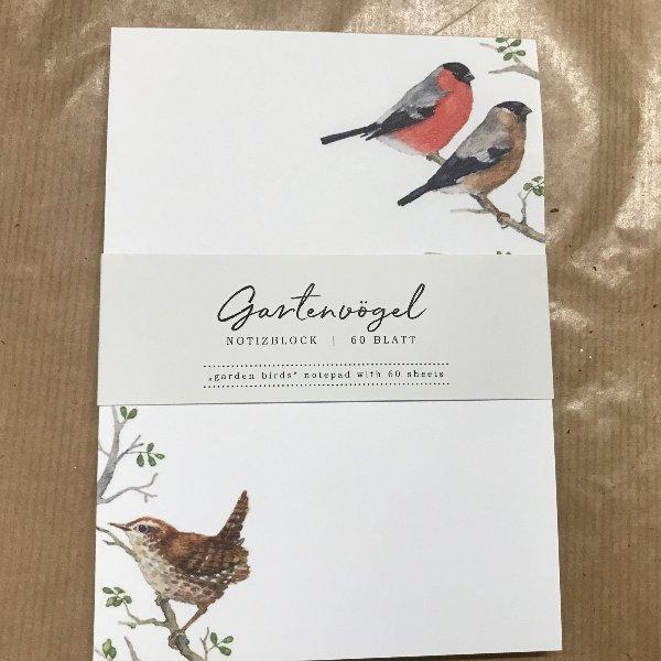Notizblock Vögel Bild 1