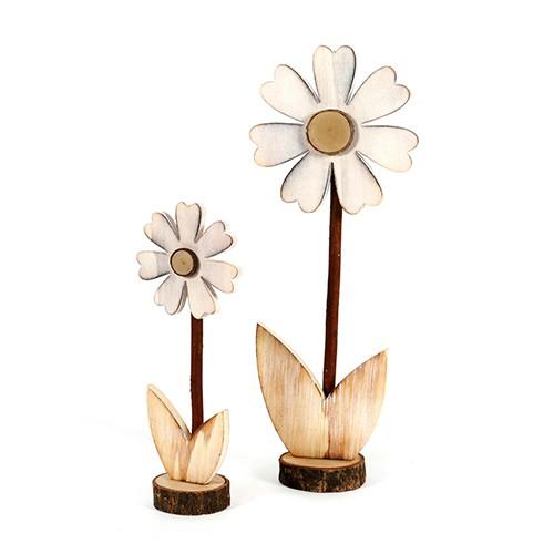"""Blume""""Margherite""""Holz, weiß Bild 1"""