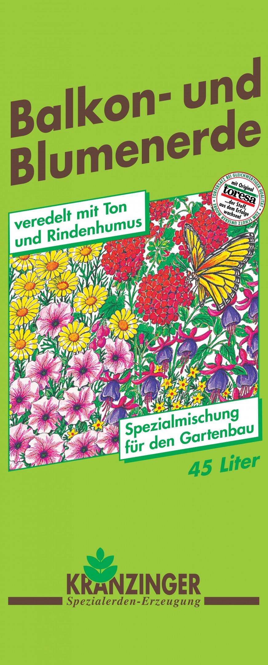 Balkon- und Blumenerde 45l Bild 1