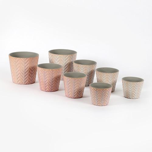 Keramik Topf, Felci, konisch Bild 1