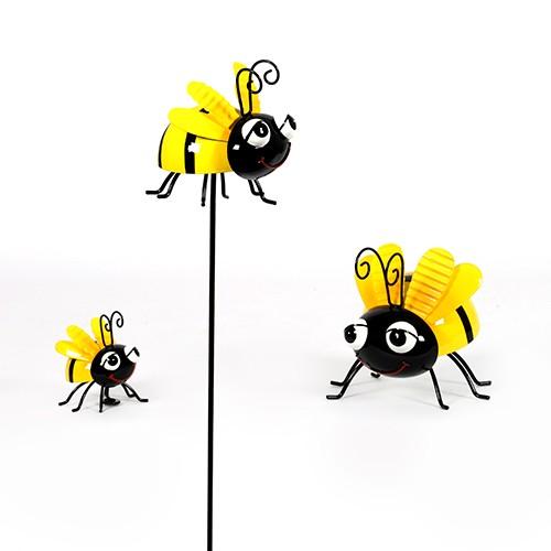 Biene aus Metall Bild 1