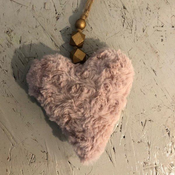 Plüschherz rosa Bild 1