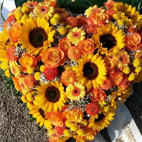 """Florales Herz """"Sommerzeit"""" Bild 1"""