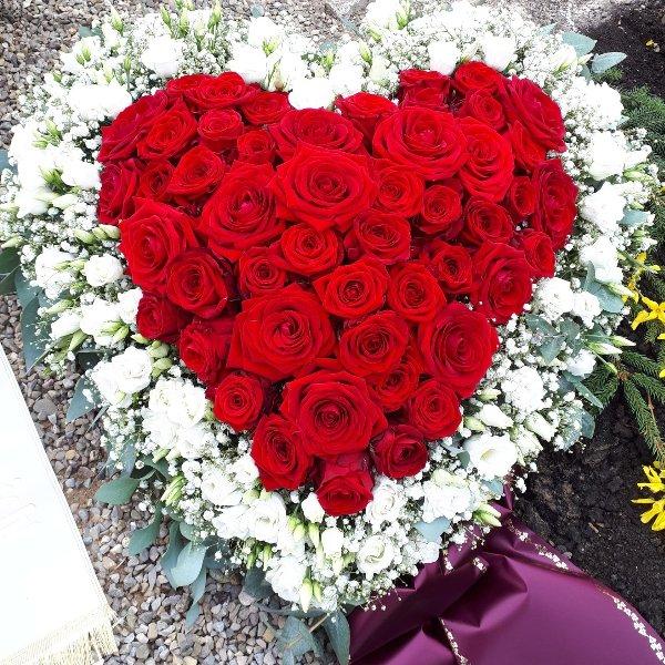 """Florales Herz """"In meinem Herzen"""" Bild 1"""