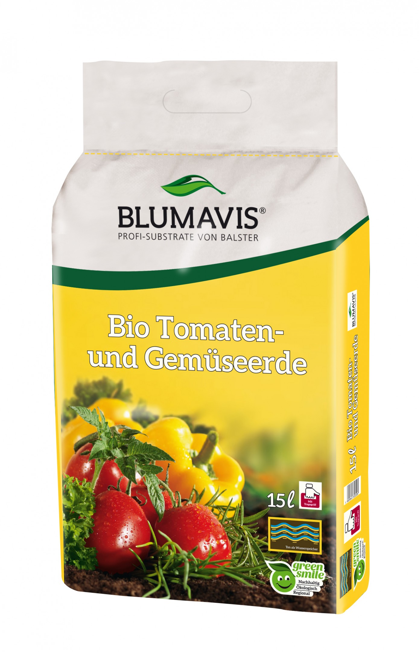 Bio Tomaten- & Gemüseerde torffrei Bild 1
