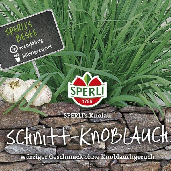 Schnitt-Knoblauch SPERLI's Knolau Bild 1