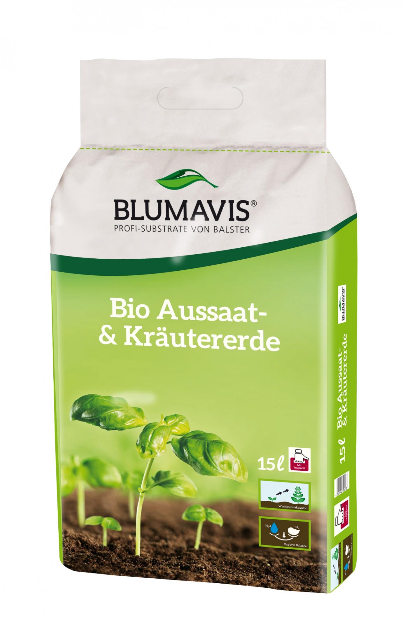 Bio Aussaat- & Kräutererde Bild 1